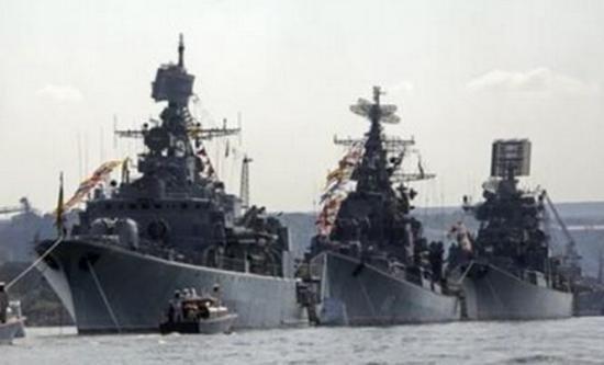 Exerciţiu strategic al flotei ruse la Marea Neagră