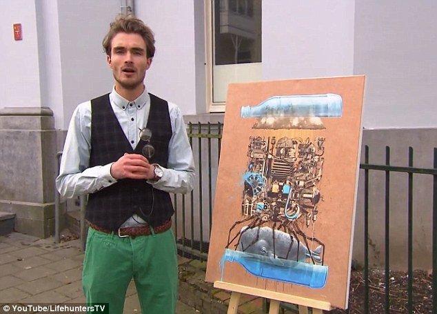 Un tablou de la Ikea, care costa 50 de lei, evaluat de SPECIALIŞTI la 2,5 MILIOANE de EURO, după ce a fost expus într-o galerie