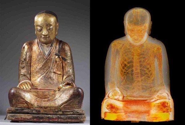 O statuie budistă foarte valoroasă a fost furată din China