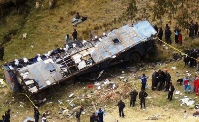 Accident cu 37 de morţi şi 80 de răniţi. Tragedia, pe o şosea din Peru