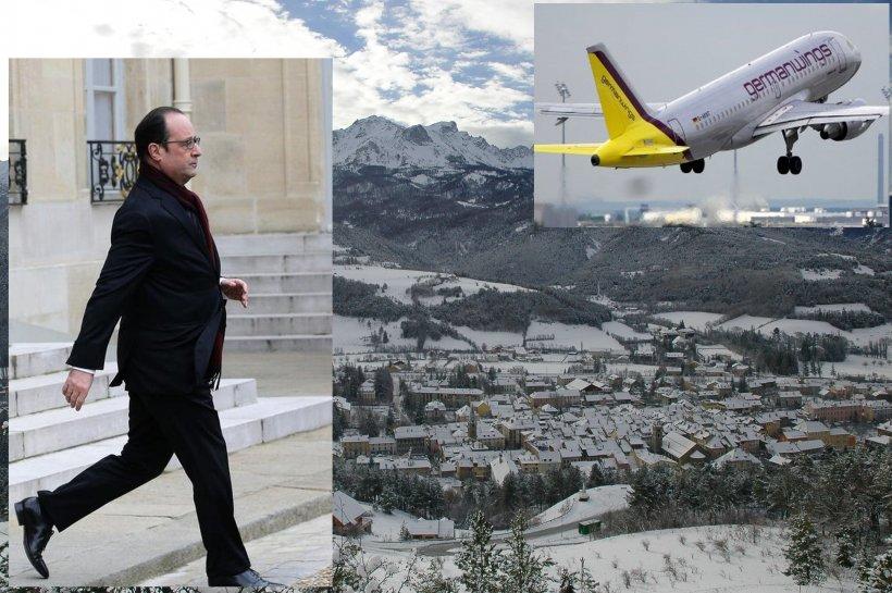 """Francois Hollande, reacţie DUPĂ prăbuşirea avionului: """"NU credem că mai există SUPRAVIEŢUITORI. Franţa este în doliu"""""""