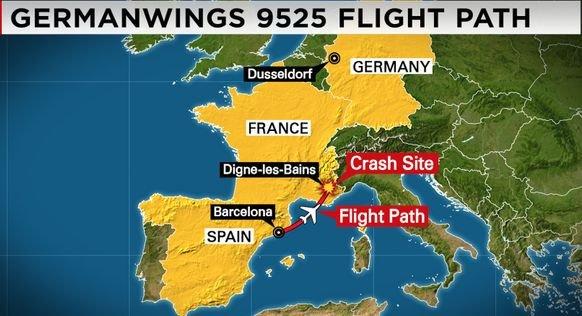 Oficiali germani: Primele dovezi arată că prăbuşirea avionului Airbus în Franţa nu este un act terorist