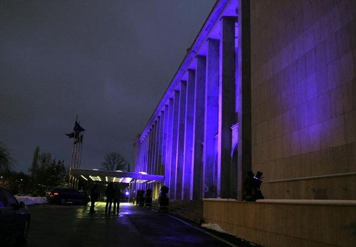 Palatul Victoria va fi iluminat în mov, pentru a marca Ziua Mondială a Epilepsiei
