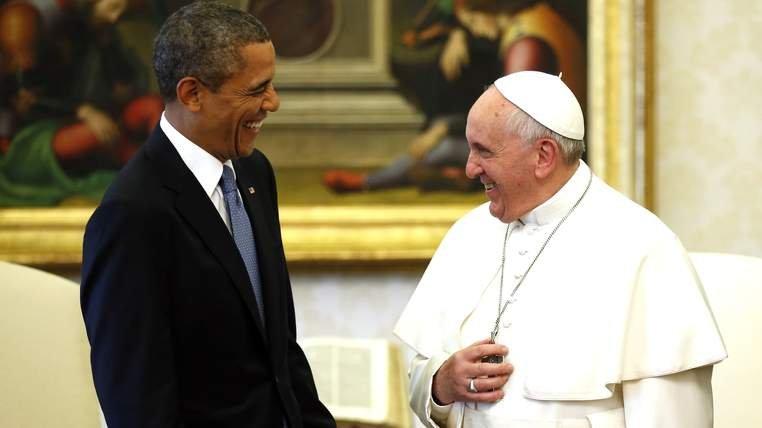 Papa Francisc se va întâlni cu Barack Obama la Casa Albă. Pentru prima dată în istorie, Pontiful va susţine un discurs în Congresul american