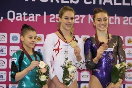 Laura Jurca, Diana Bulimar și Andrei Muntean, pe podium la Cupa Mondială de la Doha