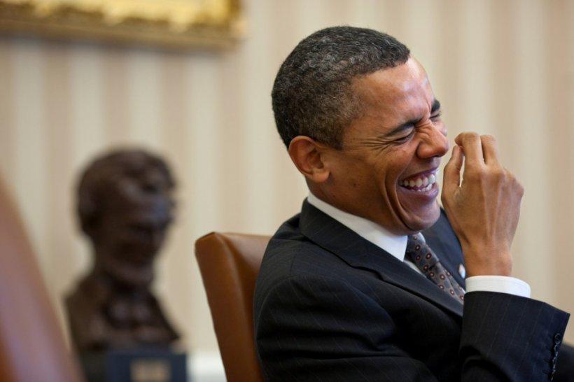 Preşedintele Americii, protagonistul unui moment amuzant. A intrat prea devreme pe scenă
