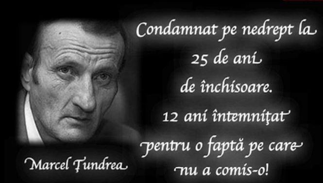 Despăgubiri de 5.000 de euro pentru fiica lui Marcel Ţundrea, gorjeanul care a stat 12 ani în închisoare fără să fie vinovat