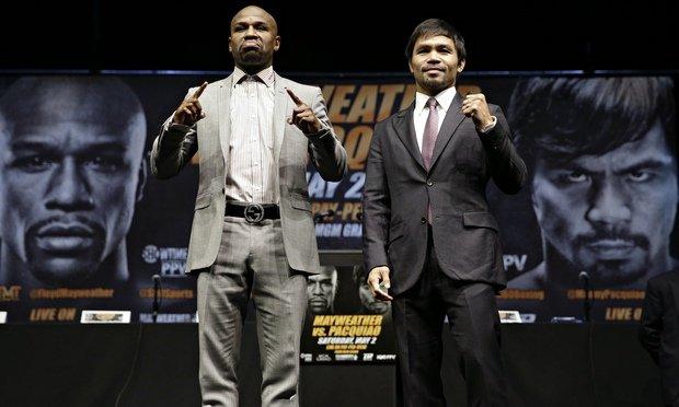Muhammad Ali îl susţine pe Manny Pacquiao în lupta cu Floyd Mayweather