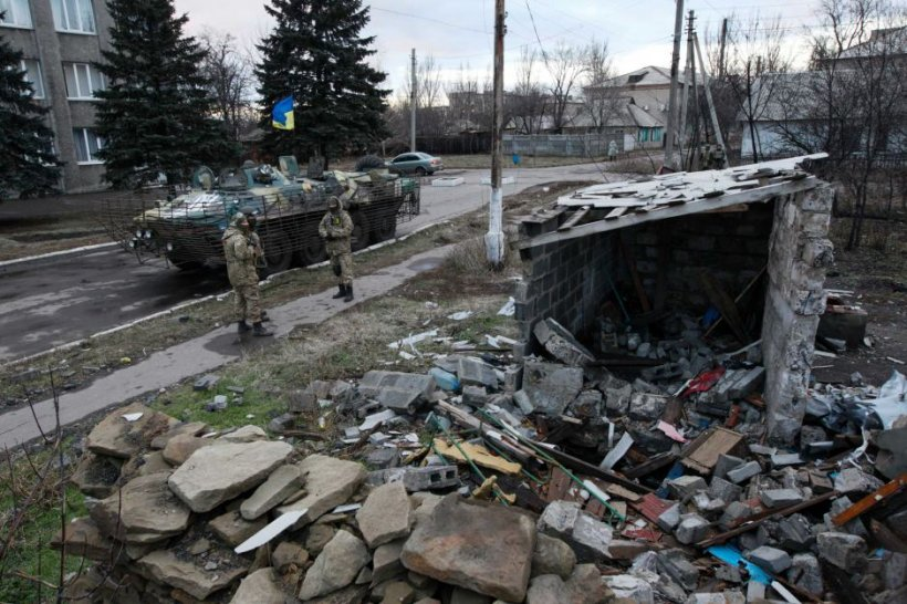Separatiștii proruși din Ucraina amenință cu părăsirea negocierilor de pace