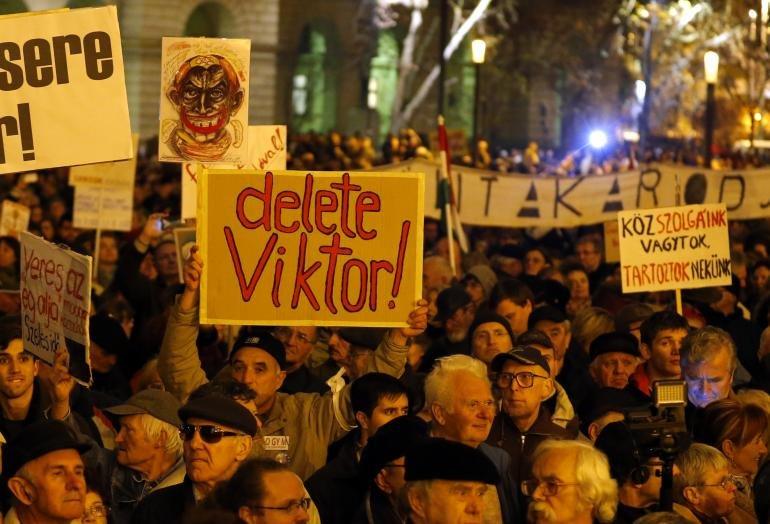 """Proteste de amploare în Ungaria împotriva corupţiei Guvernului Orban: """"A eşuat nu doar moral, ci şi politic"""""""