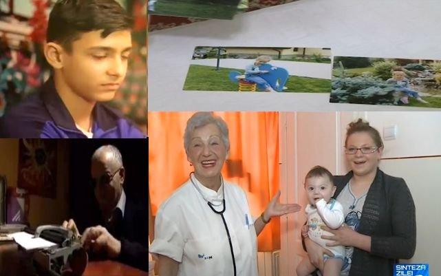 Sinteza zilei: Poveştile oamenilor care ţin România în picioare. Supraomul Adamescu şi pediatrul pentru care camera de gardă e acasă