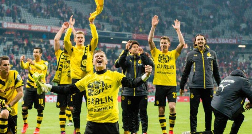 Borussia Dortmund a învins Bayern Muchen şi s-a calificat în finala Cupei Germaniei
