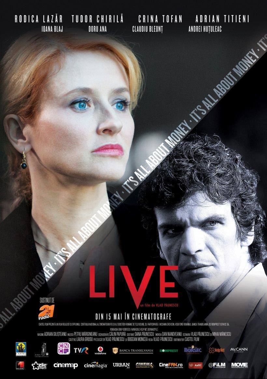 """""""LIVE"""" în regia lui Vlad Păunescu, din 15 mai în cinematografe"""