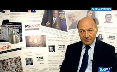 100 de minute. Traian Băsescu, încă un atac furibund la americani