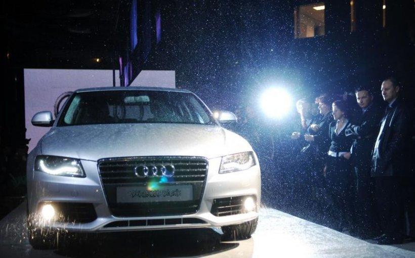 Cel puţin 20 de maşini au fost distruse după ce acoperişul unui showroom Audi s-a prăbuşit