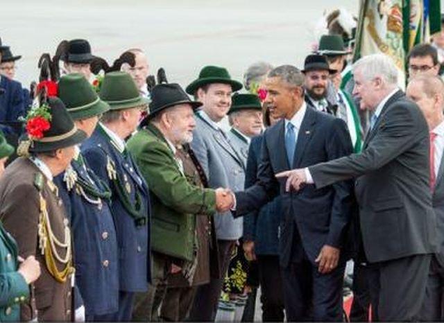 Barack Obama a sosit în Bavaria pentru summitul G7