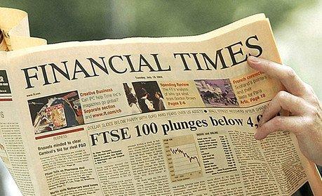 Moment istoric în presa mondială. Ziarul Financial Times a fost vândut