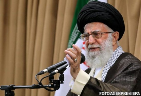 Liderul suprem al Iranului îi critică pe europeni. Ce a scris ayatollahul Ali Khamenei pe contul său de Twitter