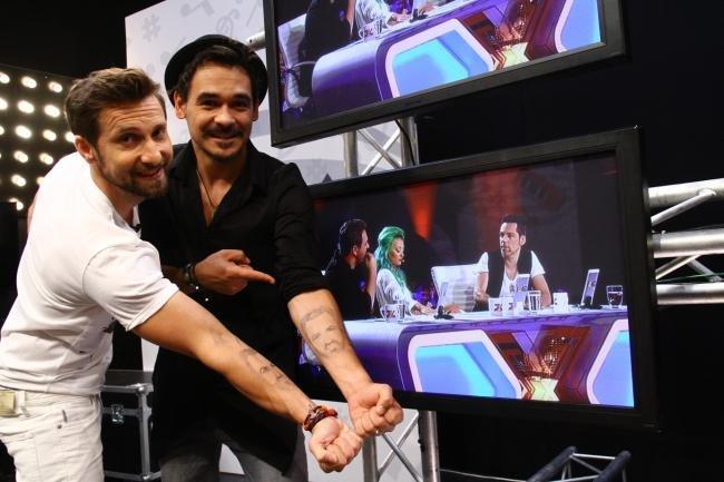 Răzvan şi Dani şi-au tatuat chipul lui Horia Brenciu