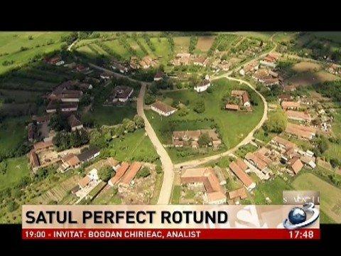 Vedere de la ţară. Charlottenburg, satul perfect rotund din judeţul Timiş