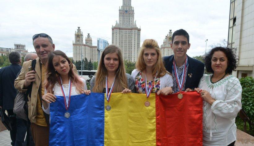 Elevii români au obţinut locul întâi la Olimpiada de Geografie din Rusia