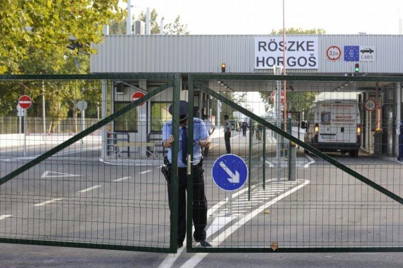Ungaria şi-a sigilat graniţa cu Serbia. Trecerea ilegală a frontierei, pedepsită cu închisoarea