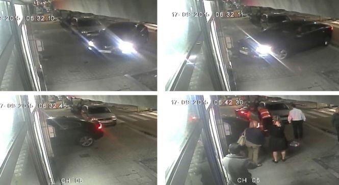 Un om al străzii, care dormea într-o parcare, a fost strivit cu maşina. Imagini şocante