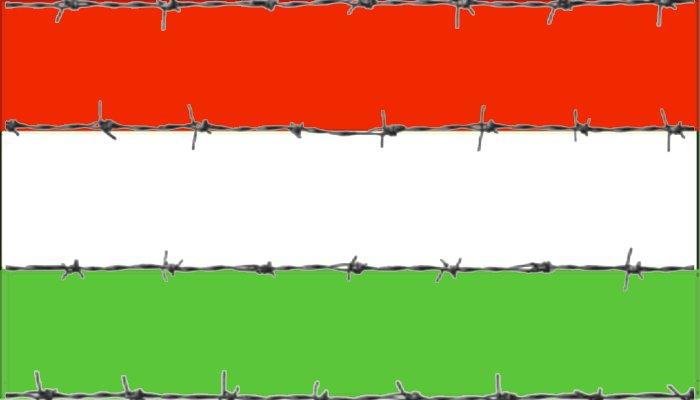 Ungaria se înconjoară cu sârmă ghimpată. Ridică gard metalic la frontiera cu un alt stat vecin