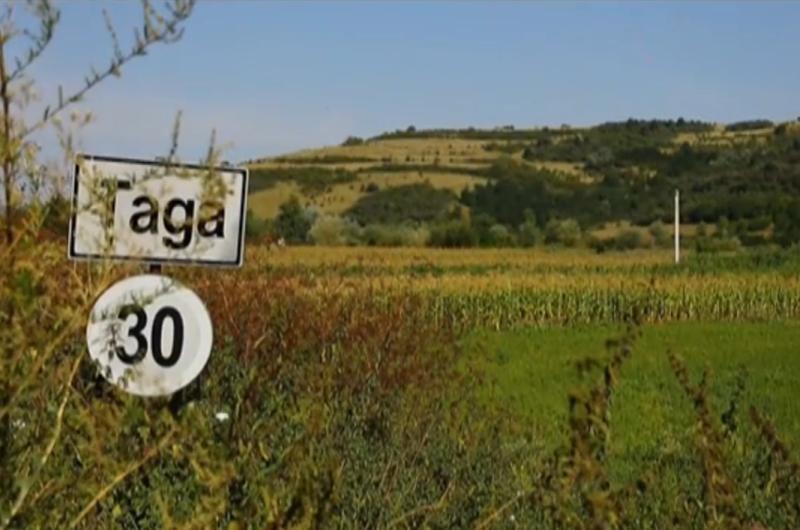 Vedere de la ţară - Ţaga, satul camembertului