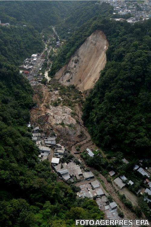 Bilanţ tragic în urma unor alunecări de teren