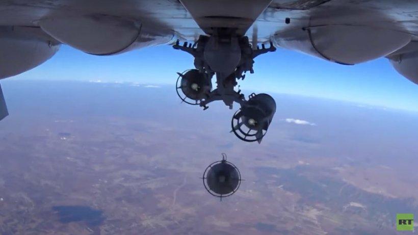 Înregistrare VIDEO terifiantă. Cum îşi lansează ruşii rachetele în Siria