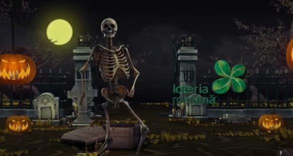 LOTO. Trageri Speciale de Halloween, anunţate pe ritm de Michael Jackson - VIDEO