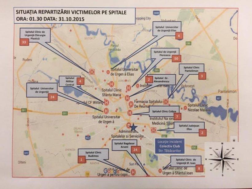 Lista De La Spitalul Municipal Cu Persoanele Rănite In Explozie