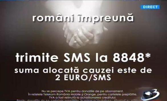 Teledonul Români Împreună. Românii au donat 1.000.000 de euro pentru victimele tragediei de la Colectiv