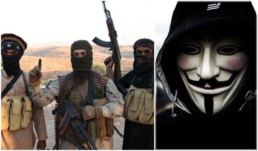 Decizia stupidă luată de ISIS după ce a fost ameninţată de hackerii de la Anonymous