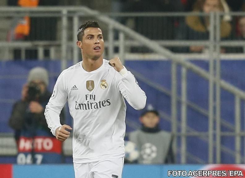 O nouă bornă depășită de Cristiano Ronaldo