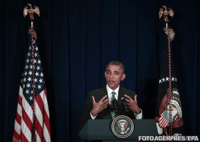 """Discurs istoric al preşedintelui Barack Obama, în privinţa terorismului. """"Libertatea este mai puternică decât frica. America va triumfa"""""""
