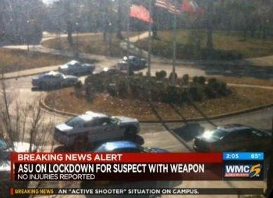Alertă armată într-un campus universitar din SUA