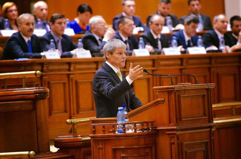 Dacian Cioloș, mesaj pe tema Bugetului. Explicațiile premierului