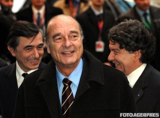 Fostul președinte francez Jacques Chirac a fost internat în spital