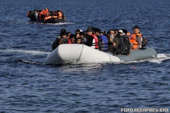O nouă tragedie în largul Greciei. 11 morți după scufundarea unei ambarcaţiuni cu imigranţi