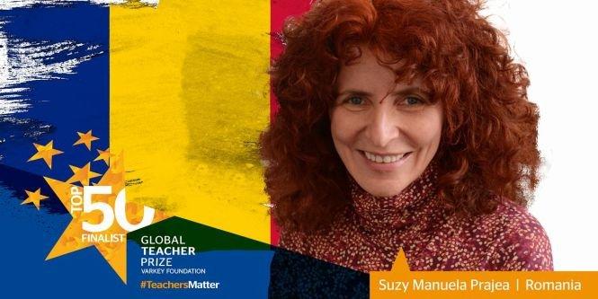 """Profesoară din România, nominalizată la """"Premiul Nobel pentru Educaţie"""""""
