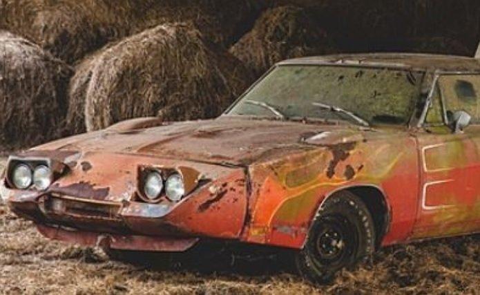 A fost descoperită cea mai scumpă mașină ruginită a momentului