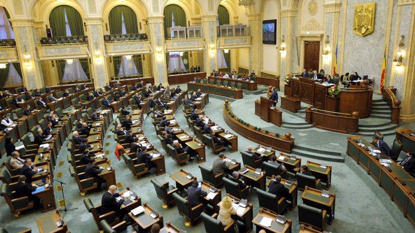 Senat: Pensiile speciale pentru aleşii locali - raport favorabil în Comisia juridică