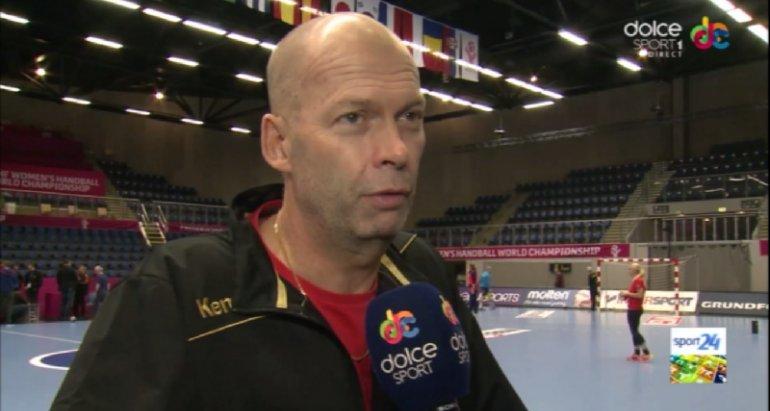 Tomas Ryde, antrenorul tricolorelor, după calificarea în semifinalele Mondialului: Hai România!