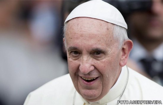 Motiv de sărbătoare pentru Papa Francisc