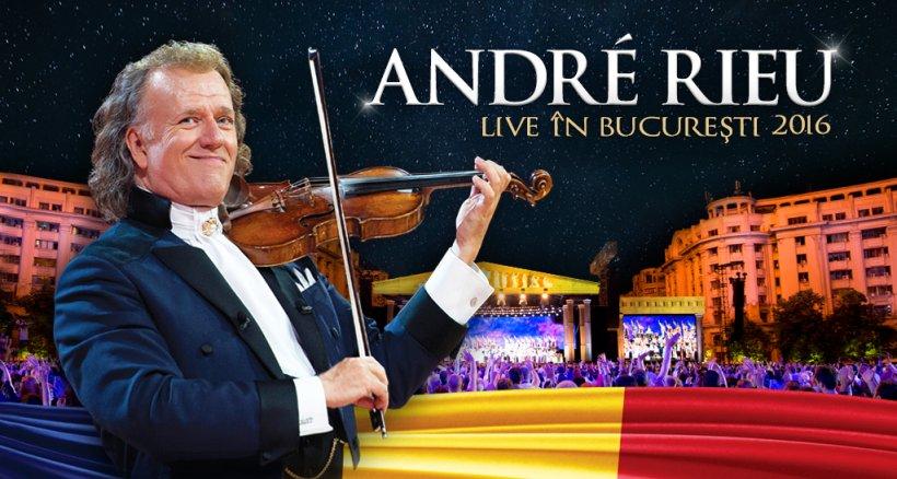 André Rieu își anunță concertul de la București din 2016