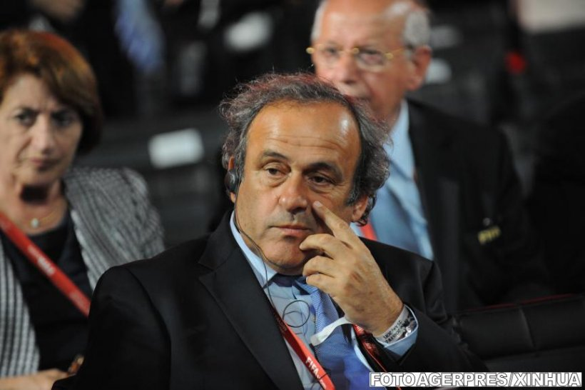 Cum au fost prinși Michel Platini și Sepp Blatter. Detaliul care i-a dat de gol pe capii fotbalului mondial