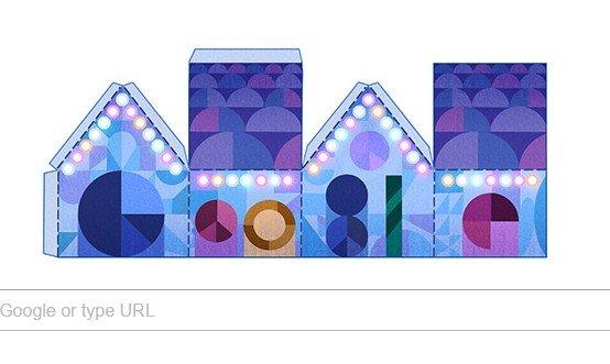 SĂRBĂTORI FERICITE! Google marchează Crăciunul cu un nou doodle. OBICEIURI de CRĂCIUN