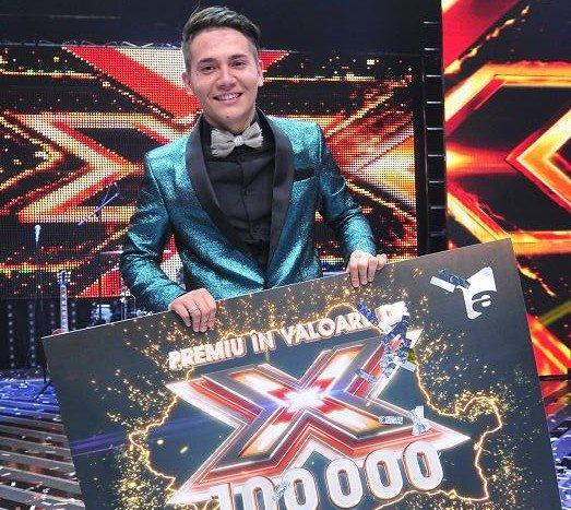 Florin Răduţă este marele câştigător al show-ului X Factor!